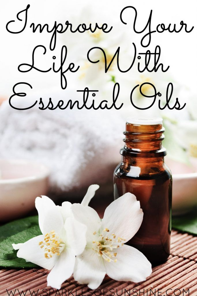 Improve your life with essential oils today!