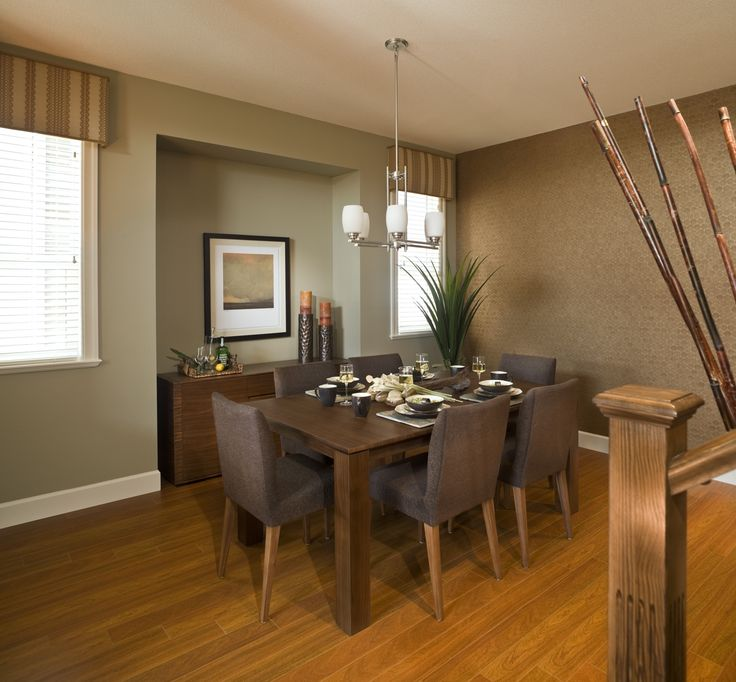 Some homeowners don't need all the glitz and glamor for their dining room. Little class and a lot of simplicity can go a long way. Agree with the design of this dining room?