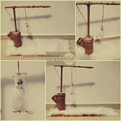 Mini playground for cats - made by PandaLav Design