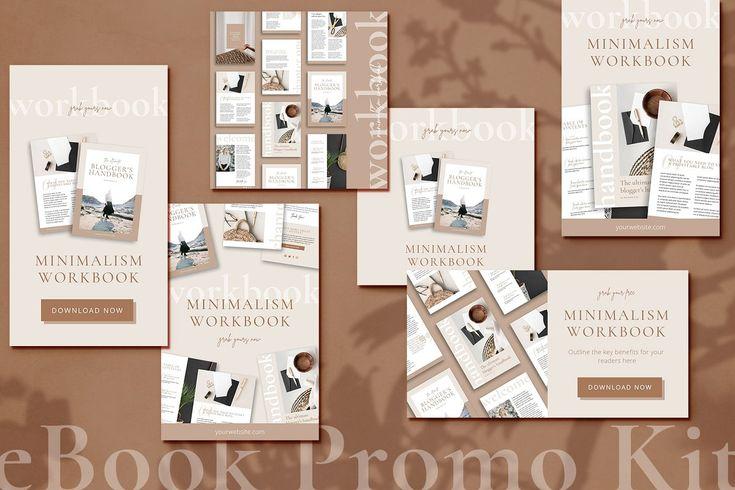 Ad: eBook & Workbook marketing kit CANVA by Studio Loire on Creative Market. Opt…