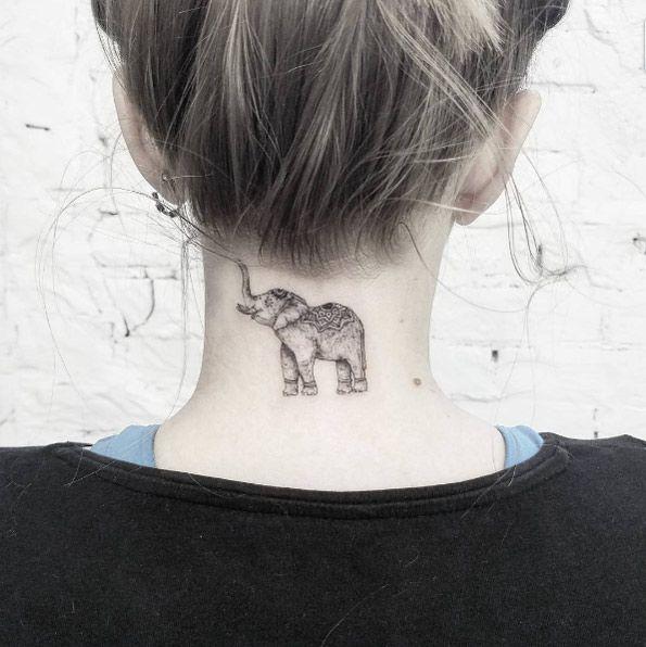 Ornamental Indian elephant by Mr. Koo