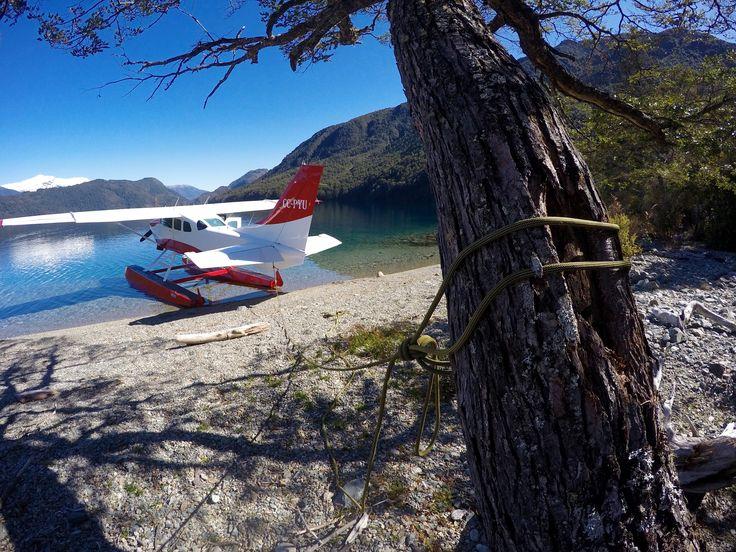 lago azul patagonia chile
