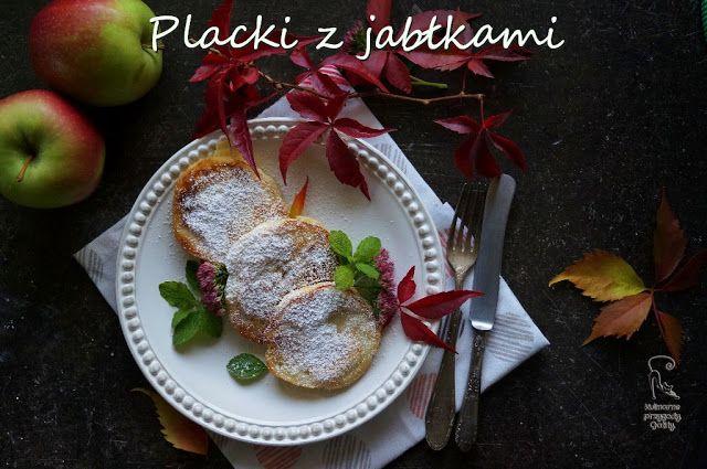 Kulinarne przygody Gatity: Puszyste placki z jabłkami