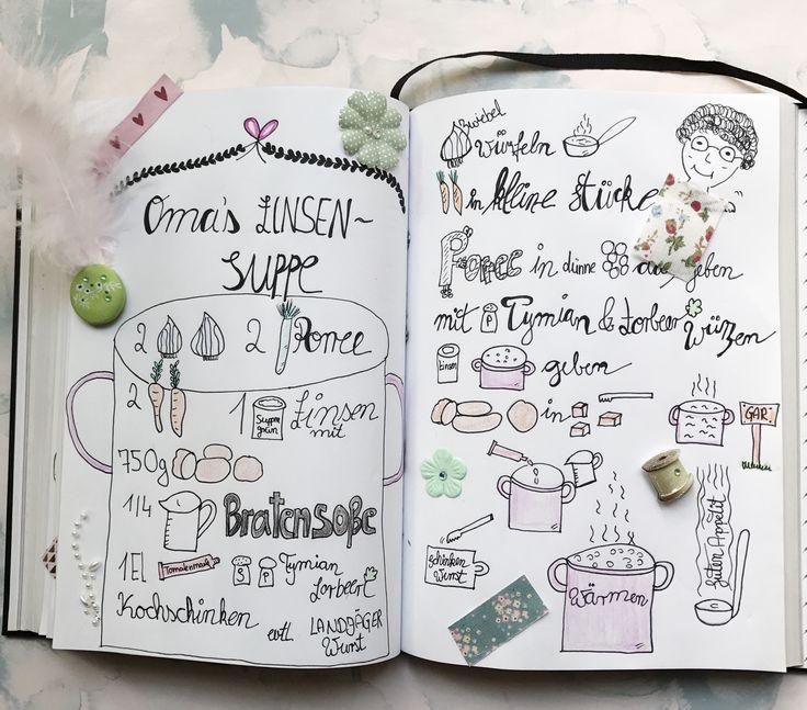 Omas leichte und köstliche Linsensuppe