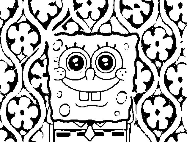 cool coloring pages coloring pages spongebob coloring pages are easy and - Fun Coloring Pages Printable