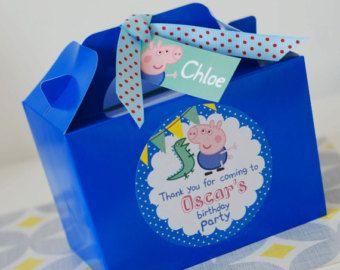 Printable Personalised PEPPA Pig GEORGE Pig by OrangePaperDuck