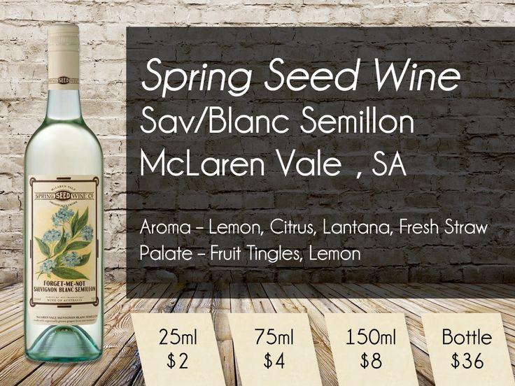 Spring Seed Wine