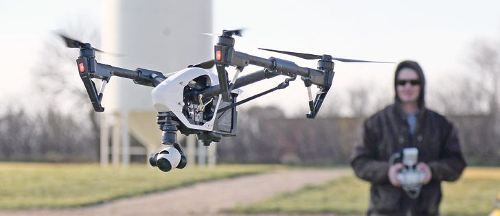 At the Ag Drone Flight School held at the Ag In Motion grounds near Langham, Sask, participants were taught how drones can be used in agriculture and what the regulatory requirements are for using drones commercially.  |  Robin Booker photo