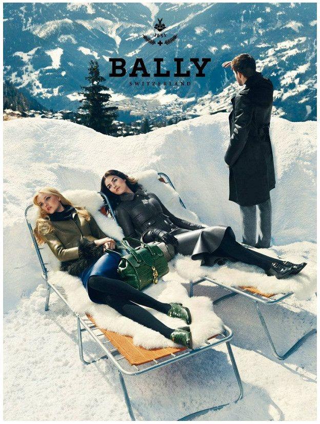 NORMAN JEAN ROY - CAROLINE TRENTINI Y HILARY RHODA Bally (winter 2012)