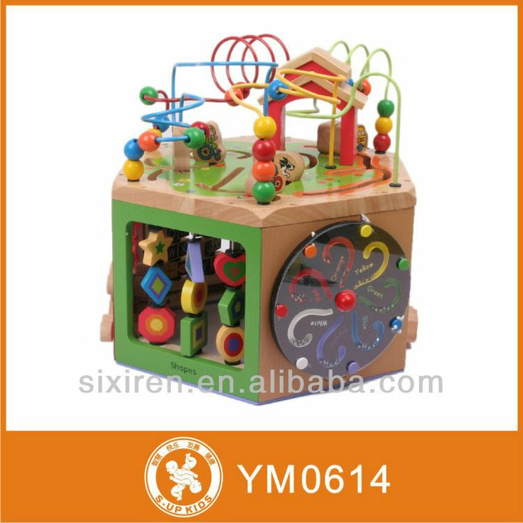 Activity Cube Toy : Best images about wooden multi activity cube on