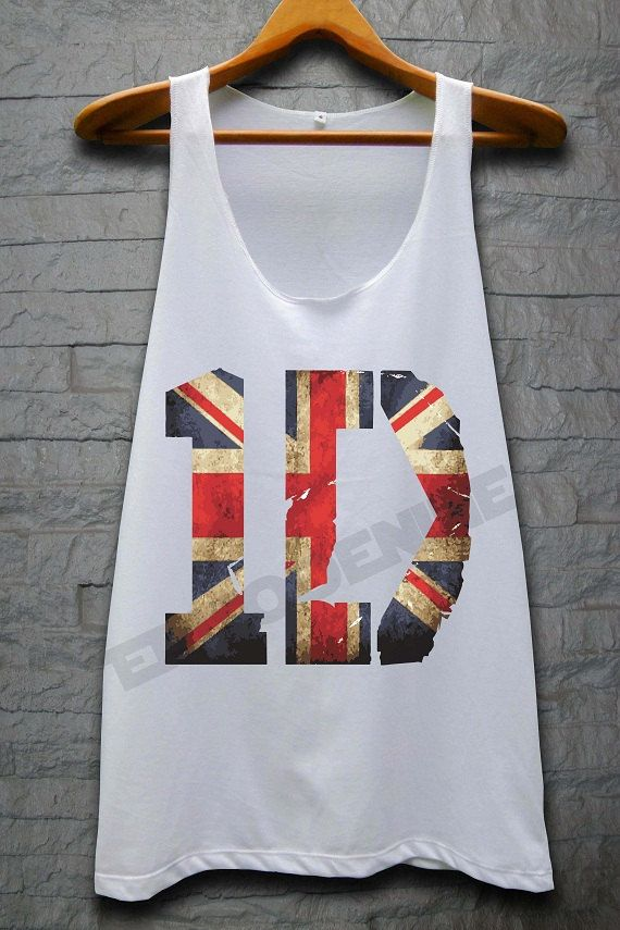 One Direction England Flag Shirt 1D Tank Top Boy by EpisodeNine, $14.99