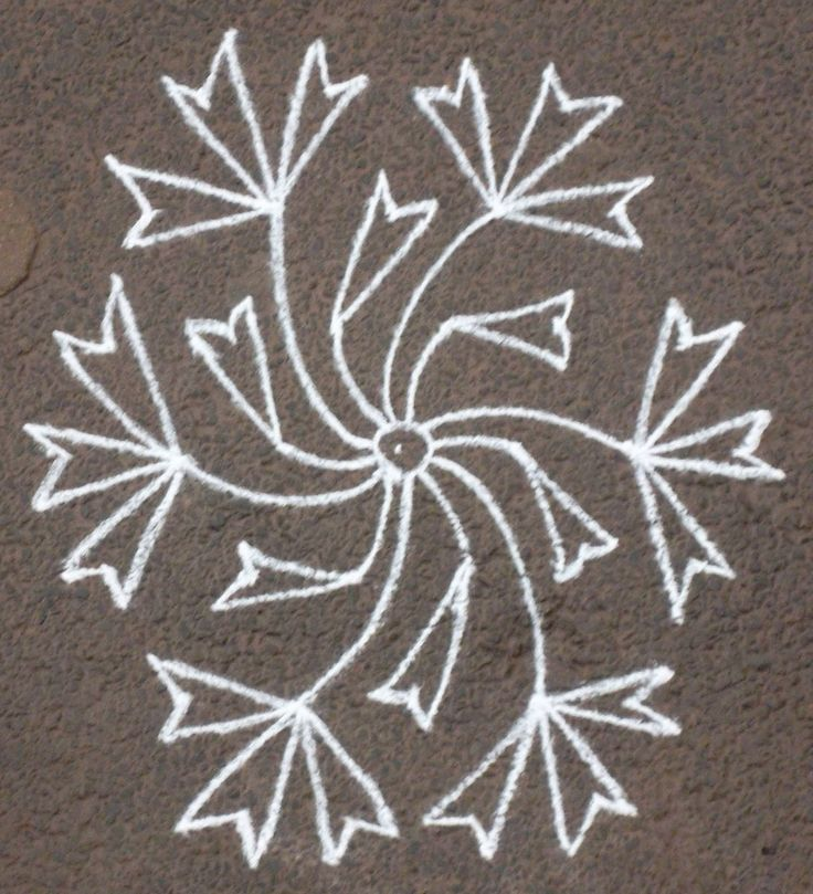 Waldorf ~ 5th grade ~ Ancient India ~ Rangoli / Kolam ~ Morning Lesson Wake-up Form