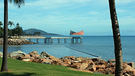 The Strand, Townsville... lovely for a walk or Sunday Breakfast