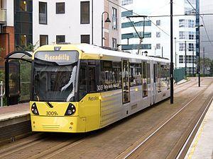 Manchester tram