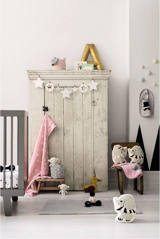 Chambre douce sweet room Chambre Bébé décoration Nursery garçon fille baby bedroom boys girls enfant diy home made fait maison #SalonCSF