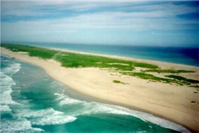 Sable Island, one gigantic sandbar