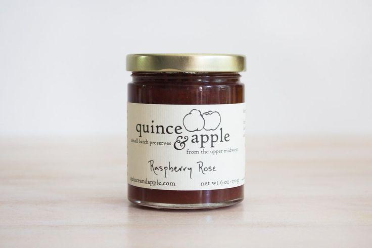Raspberry Rose Jam #Dairy-Free #Gluten-Free #Soy-Free