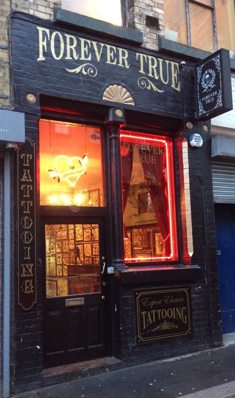 tattoo studio frontage - Google Search