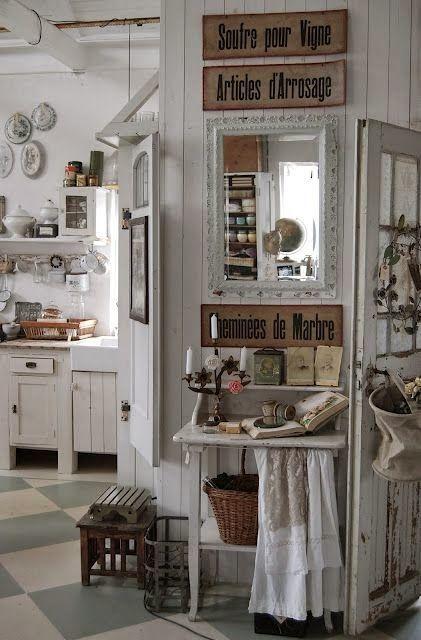 25 beste idee n over shabby chic keuken op pinterest - Heel mooi ingerichte keuken ...