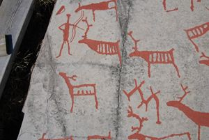 Rock art from Alta. The oldest might be from 5200-4200 B.C.
