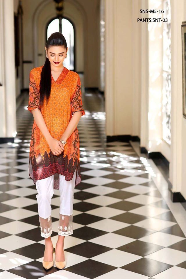 Sobia Nazir Cotton Lawn Collection 2016 2017