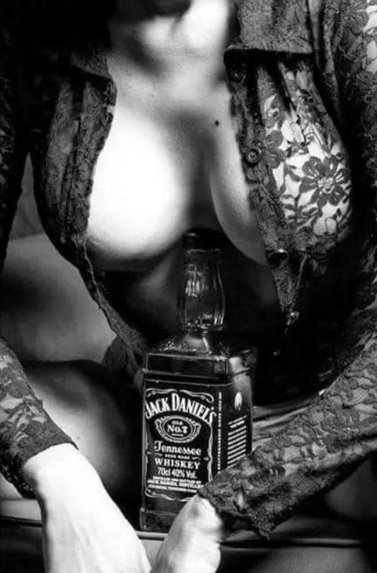 Jack daniels and naked girls