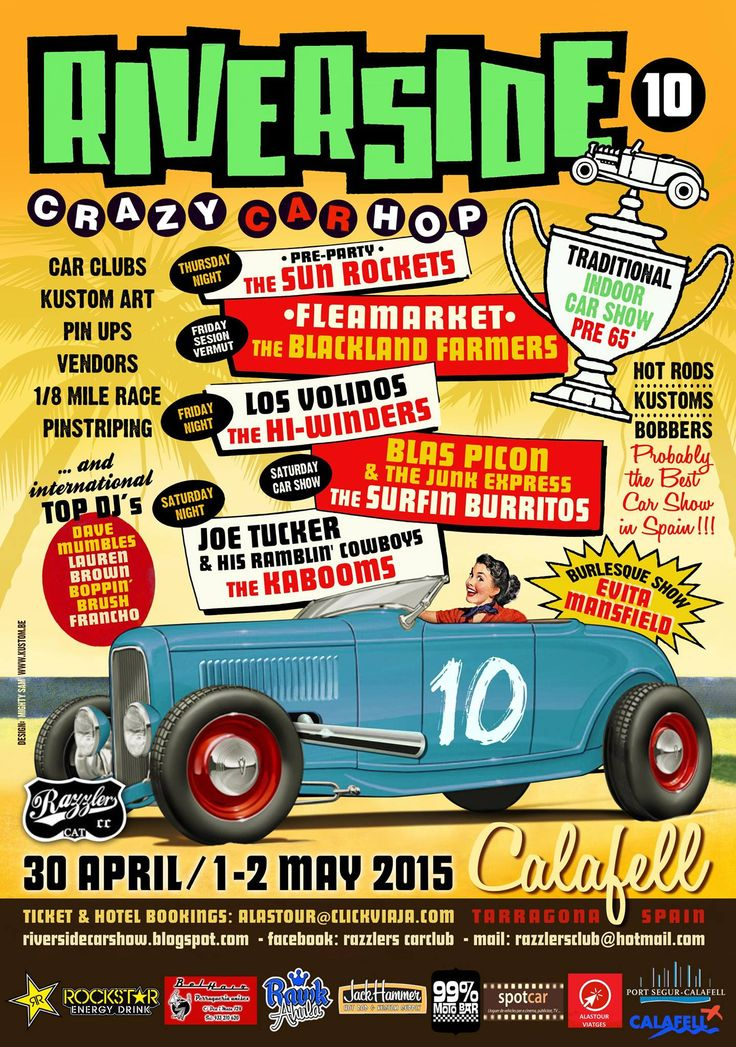 Riverside Car Show Spain
