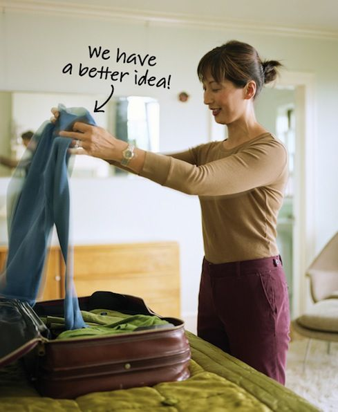 Heading away for the holidays? Try these nifty packing tips to help reduce stress and unnecessary suitcase clutter