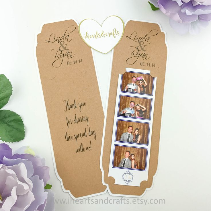 CUSTOM picture frame holder for 2x6 photo booth strip party favors photo booth wedding favors by iheartsandcrafts on Etsy https://www.etsy.com/listing/474875001/custom-picture-frame-holder-for-2x6