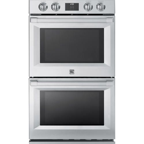 "Kenmore Pro 41143 30"" Electric Double Wall Oven - Stainless Steel - Sears"