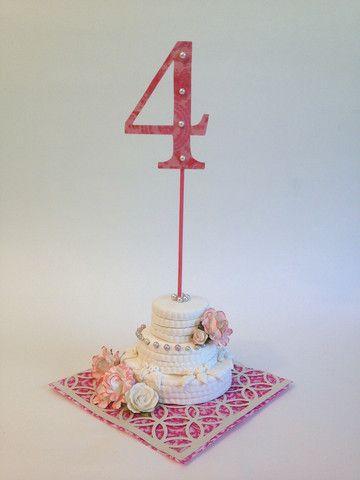 DIY Wedding Reception Table Topper - Lisa Fulmer