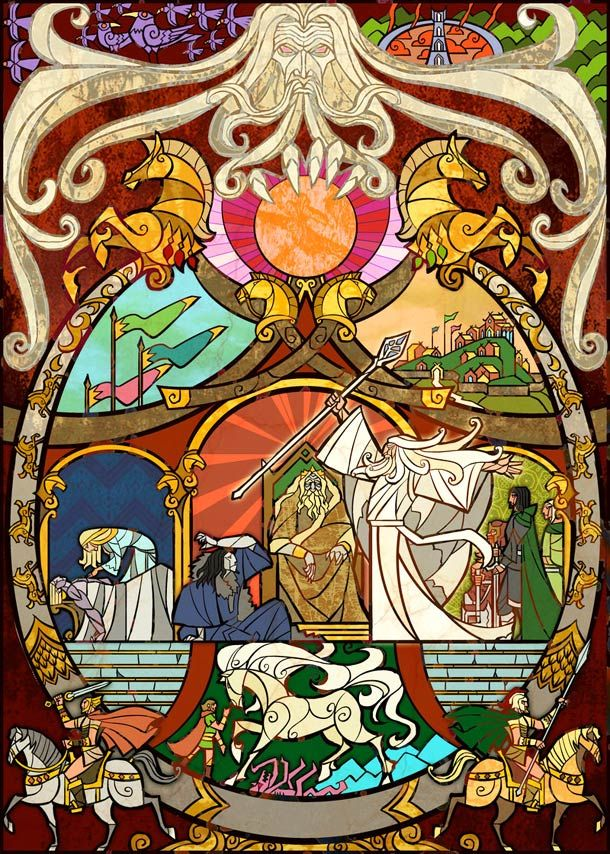 Lord-of-the-Rings-illustrated-in-stained-glass-5