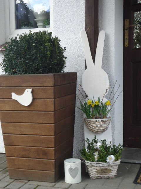 Wielkanoc Easter Decoration Front Door