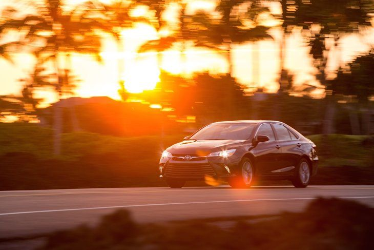 Driving — and enjoying —the 2015 Toyota Camry, America's favorite car | Motoramic - Yahoo Autos