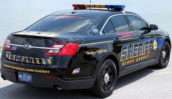 Berks County Sheriff 2013 Ford Police Interceptor Sedan Police