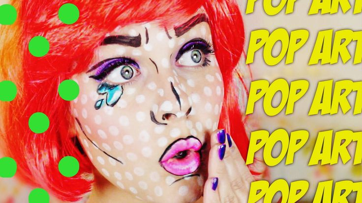 POP ART Make-up TUTORIAL ♡ CALL OF BEAUTY ♡ | Dagi Bee