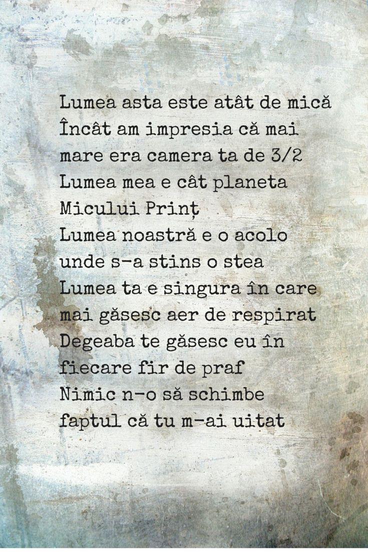 27th poem - Lumea noastră