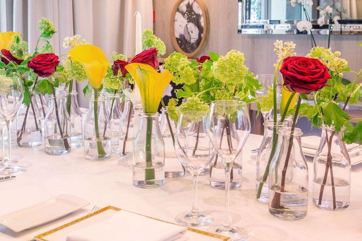 Decoración del restaurante Villa Torii en Madrid para un evento de  La Gastronoma.