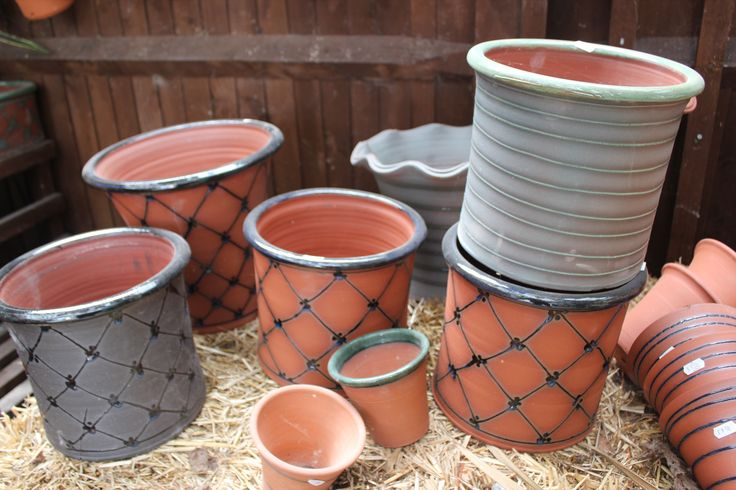Garden ware from Aylesford Pottery