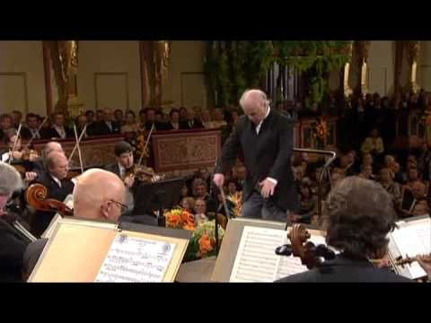 Hadyn Farewell Symphony, IV.  Barenboim and the Vienna doing one of the funnier versions of this that I've found.