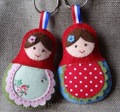 babuschka key ring