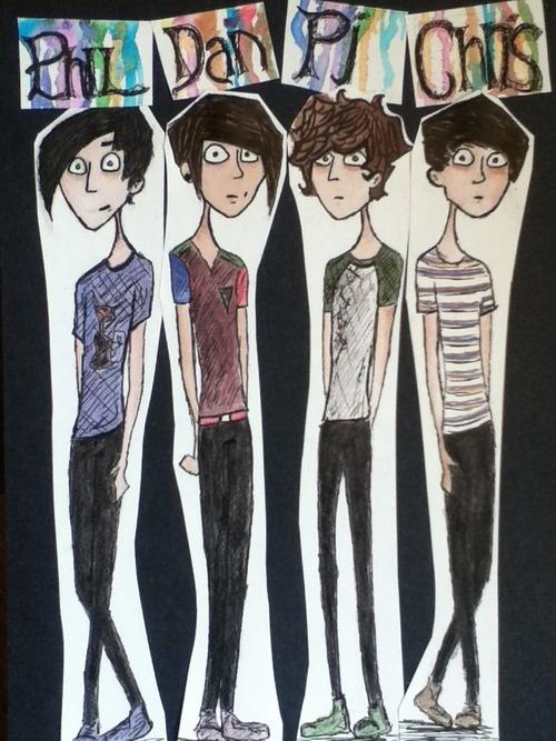 Phil, Dan, PJ, and Chris