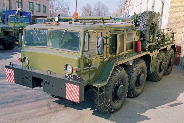 Белорусские богатыри: армейские тяжеловозы МАЗ   5koleso.ru Колесный эвакуационный тягач тяжелый (КЭТ-Т) на шасси МАЗ-537 поздних выпусков до сих пор служит в войсках