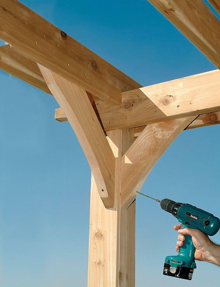 Pergola plans how to build your own pergola pergola for Build your own cupola