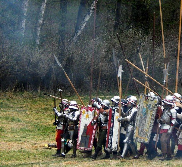 The black army of Hungary was a standing army during the middle ages which was rare but becoming more common during the 15th century. It was called that because many men in the army had black amour
