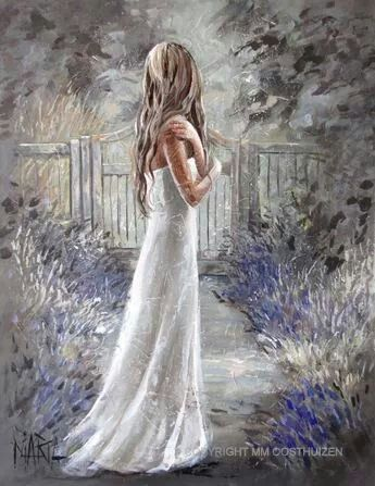 Lavender and Gray Maria Magdalena Oosthuizen
