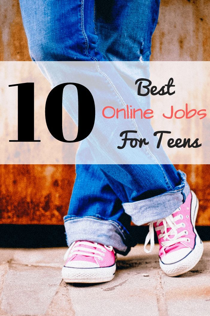 Teens can find great paying jobs online! Here's my list of 10 awesome places a teenager can work online for money!