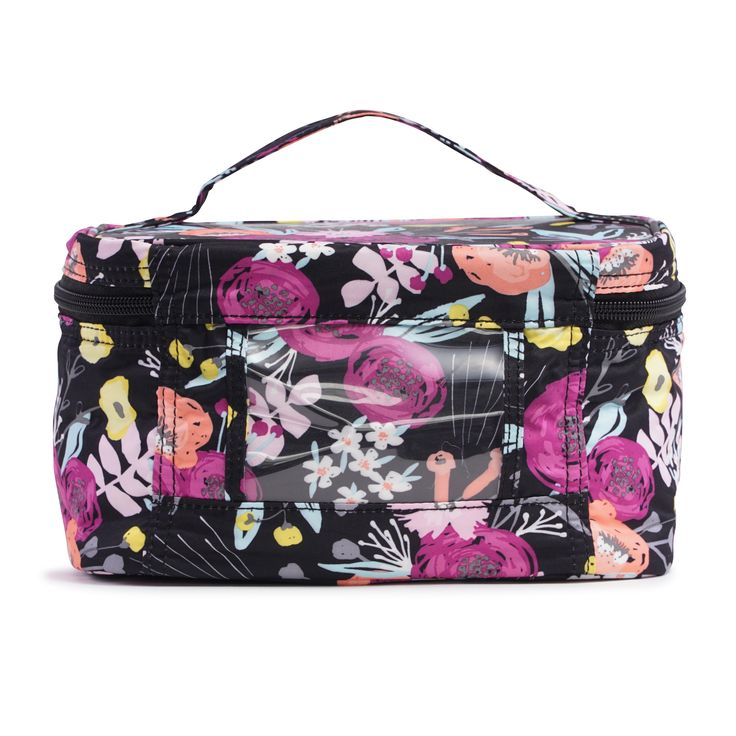 Ju-Ju-Be Onyx Be Ready in Black & Bloom: €39,95 / £35,00. Great makeup kits and toiletry bag.