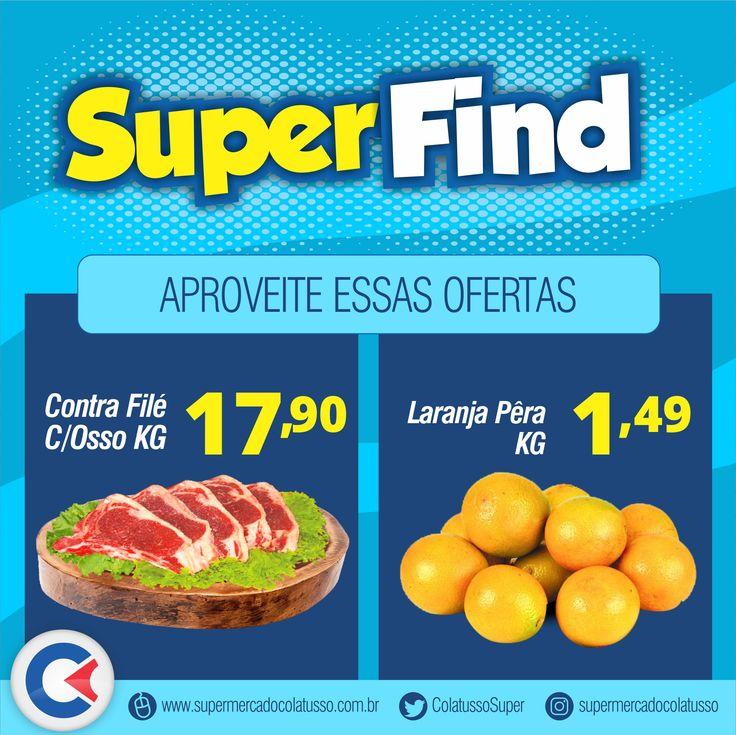 Comece bem o dia com mais algumas ofertas somente aqui no Supermercado Colatusso.