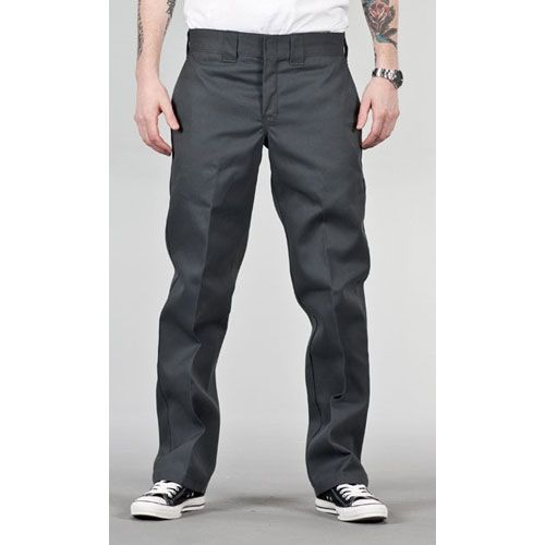 Dickies 873 Slim Work Pant Charcoal